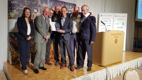 Interlink team at the buildingSMART Award 2018
